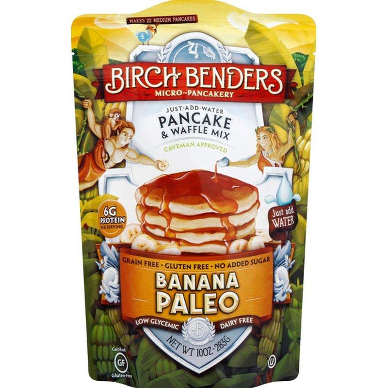 Birch Benders Banana Paleo Pancake & Waffle Mix