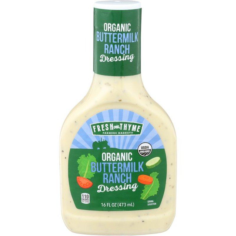 Fresh Thyme Organic Buttermilk Ranch Dressing