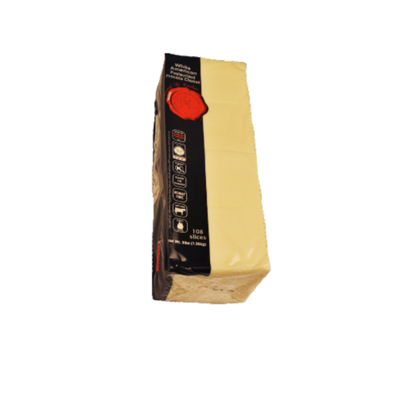 Natural & Kosher American Pasteurized Cheese Slices
