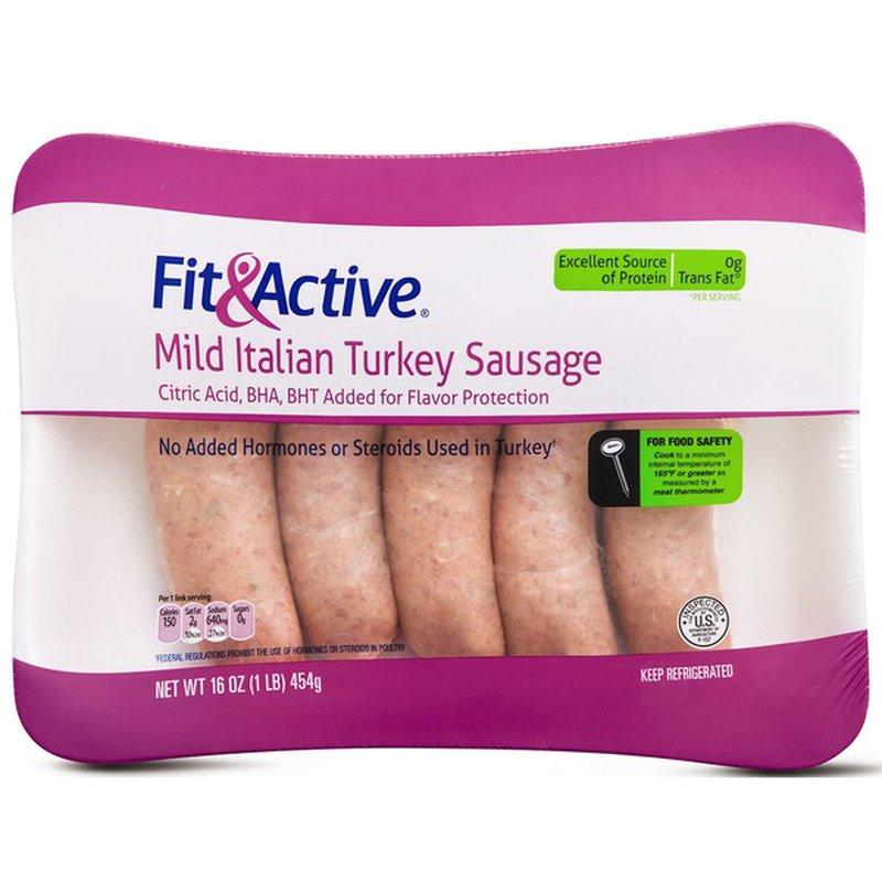 Fit & Active Turkey Breakfast Sausage