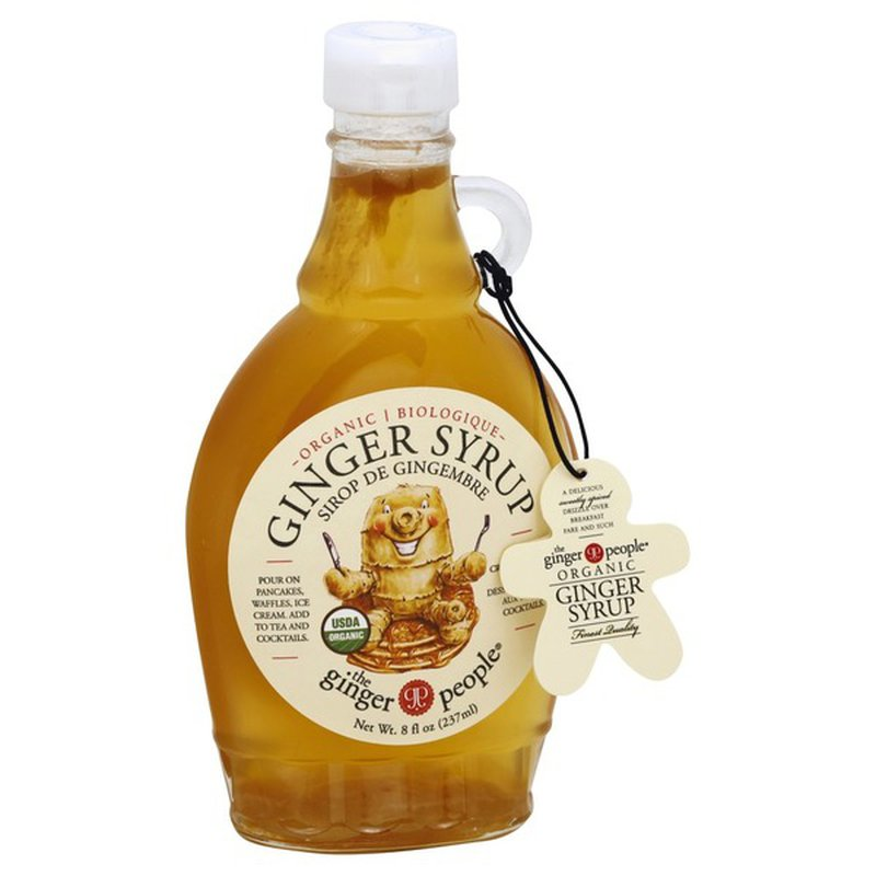 The Ginger People Syrup, Organic, Ginger