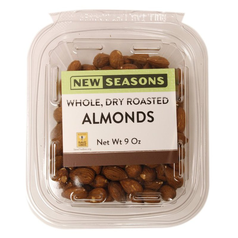 New Seasons Market Whole Dry Roasted Almonds