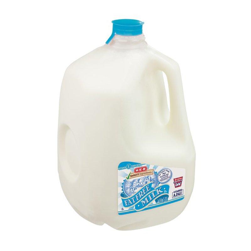 H-E-B Fat Free Milk
