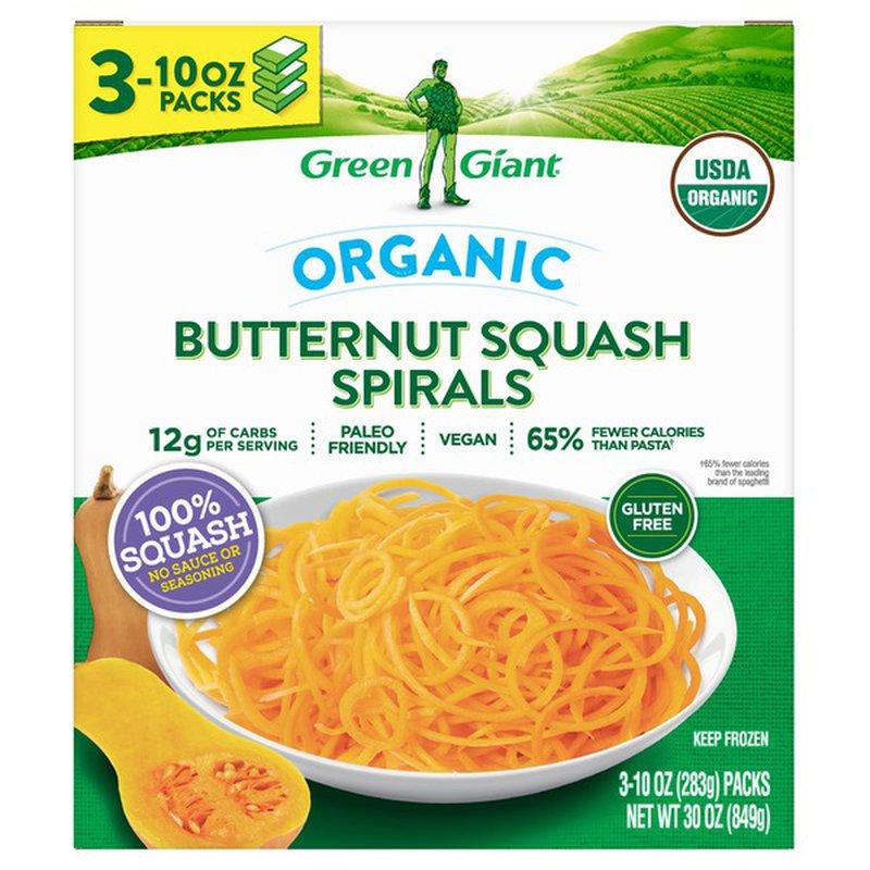 Green Giant Organic Butternut Squash Spirals