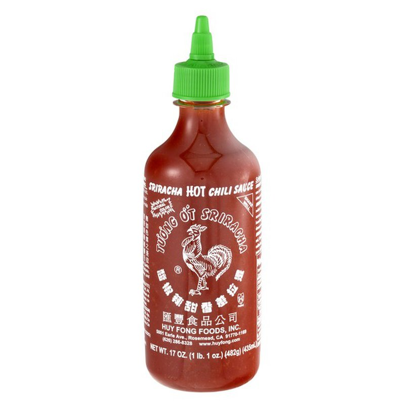 Huy Fong Foods Chili Sauce, Hot, Sriracha