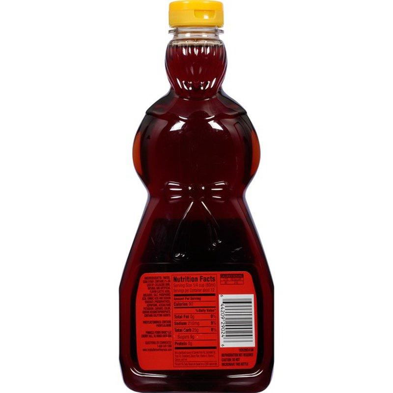 Mrs. Butterworth's Lite Syrup (24 fl oz) - Instacart