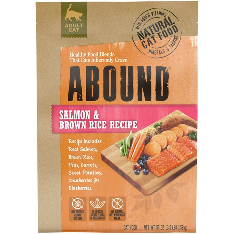 Abound Salmon & Brown Rice Adult Cat Food
