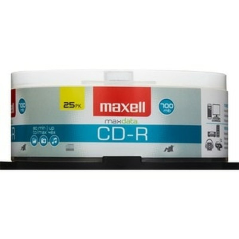 Maxell 648445 700 MB 80 Minute CD?R Spindle
