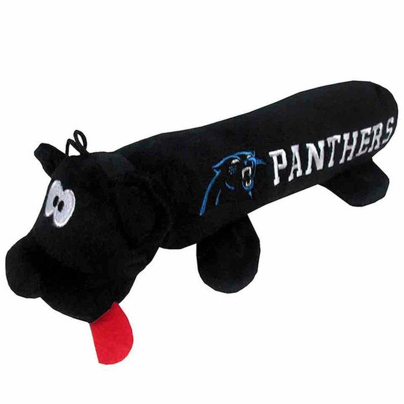 Pets First Carolina Panthers NFL Tube Dog Toy