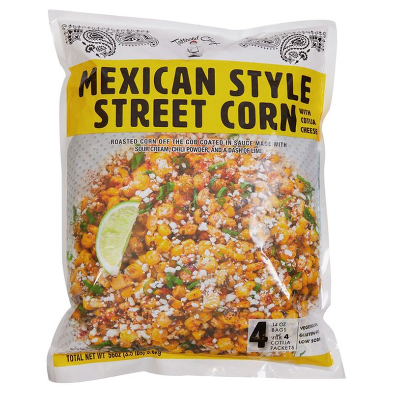 Tattooed Chef Mexican Style Street Corn 12 Oz Instacart