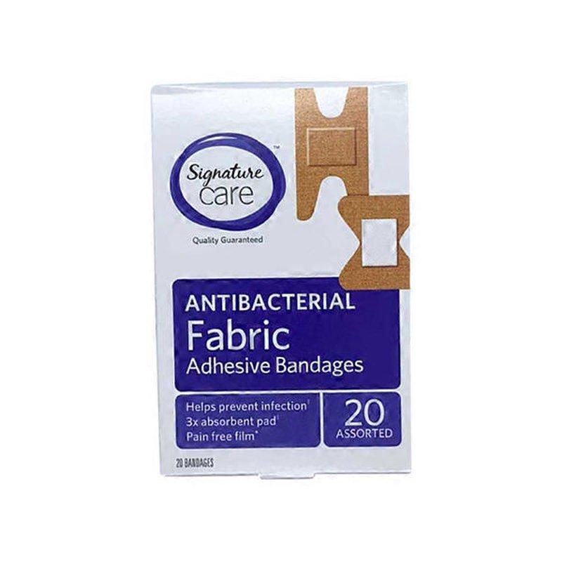 Signature Home Assorted Fabric Adhesive Bandages