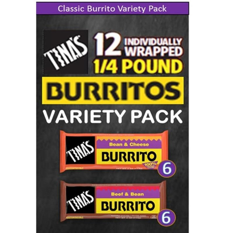 Tina's Burritos Variety Pack