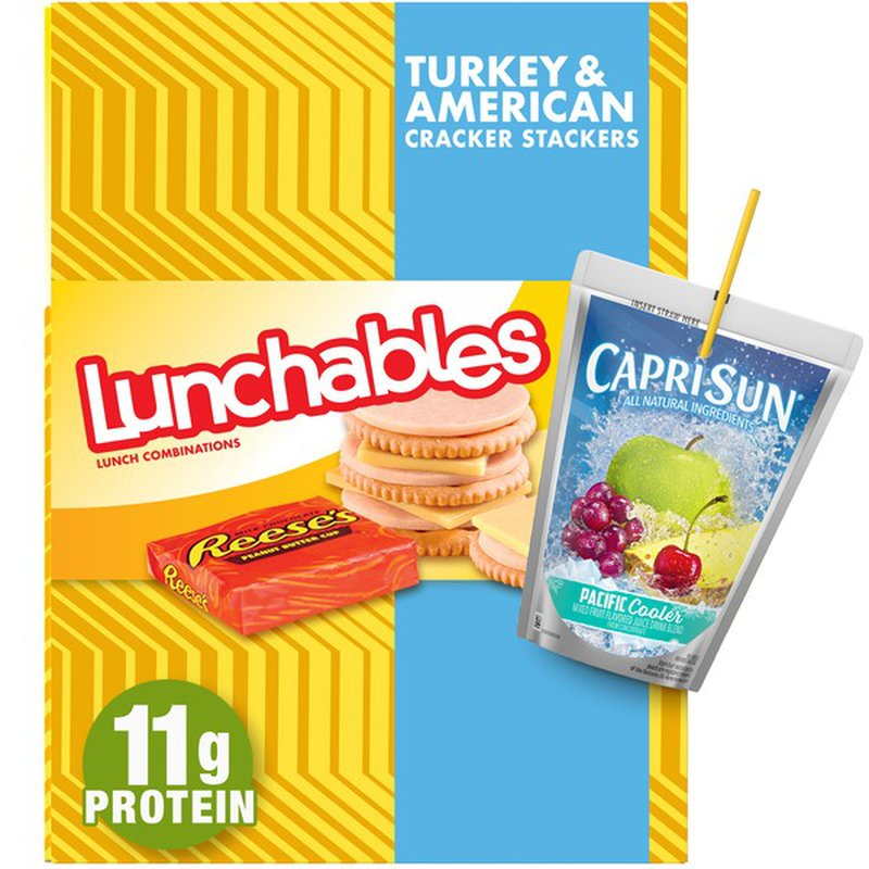 Lunchables Turkey & American with Capri Sun Convenience Meal