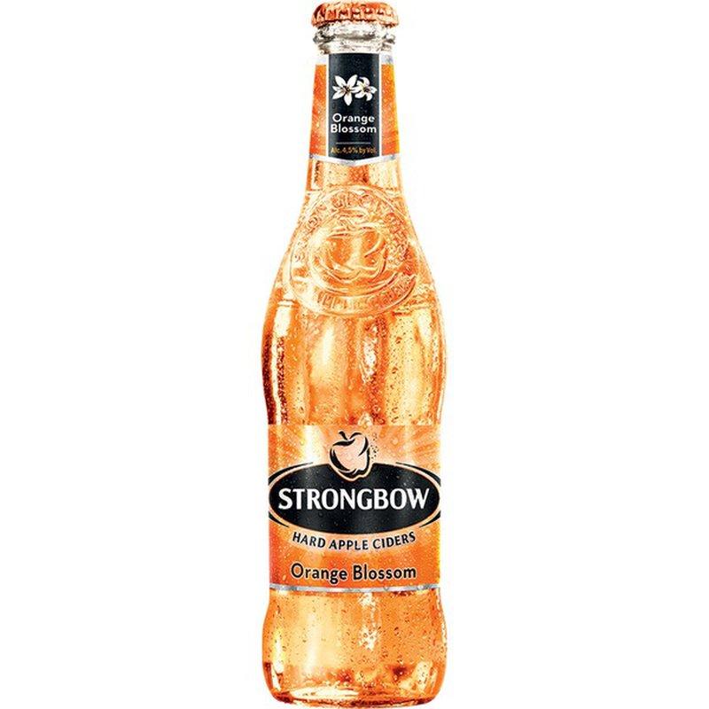 Strongbow Orange Blossom Hard Apple Ciders