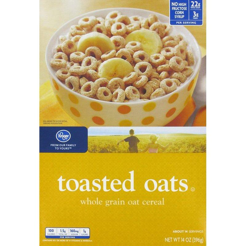 Kroger Toasted Oats Cereal