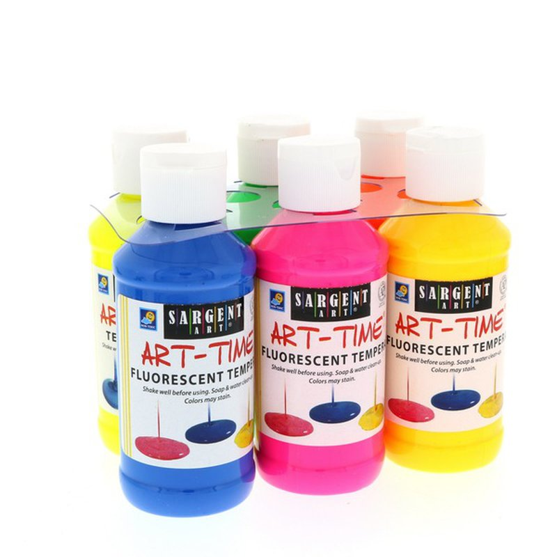 Sargent Art Fluorescent Tempera Paint