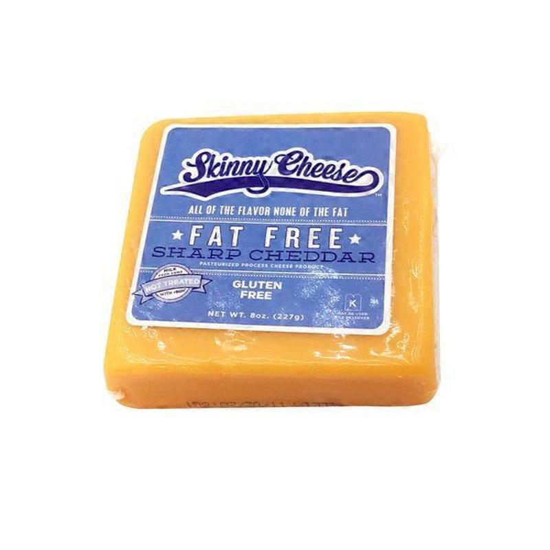 skinny cheese sharp cheddar fat free 8 oz  instacart