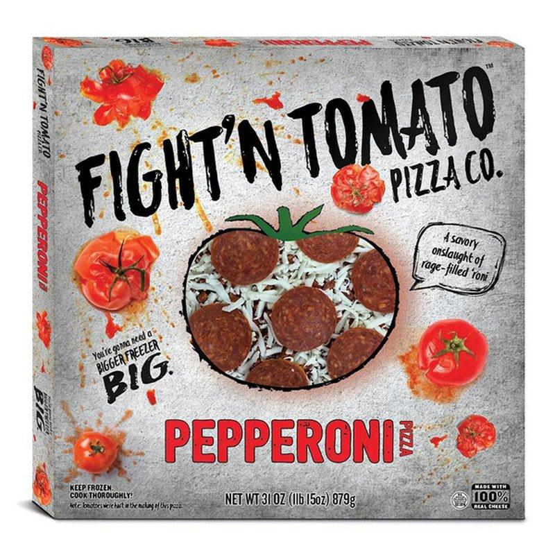 Fight'n Tomato Pizza Co. Pizza