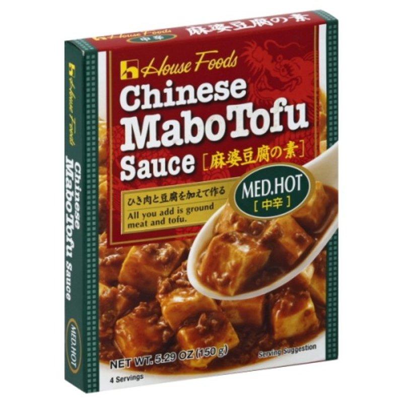 House Foods Sauce, Chinese Mabotufo, Med, Hot