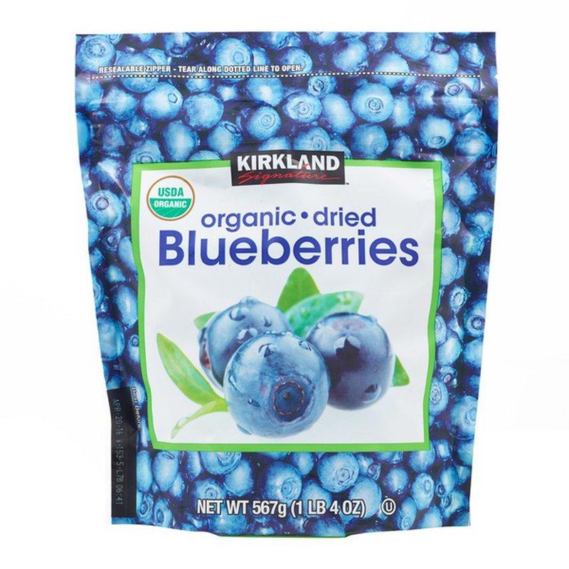 Kirkland Signature Organic Dried Blueberries, 20 oz