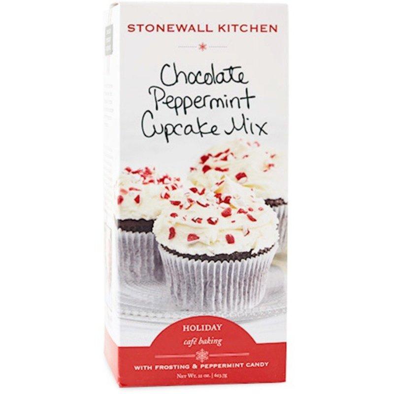 Stonewall Kitchen Chocolate Peppermint Cupcake Mix