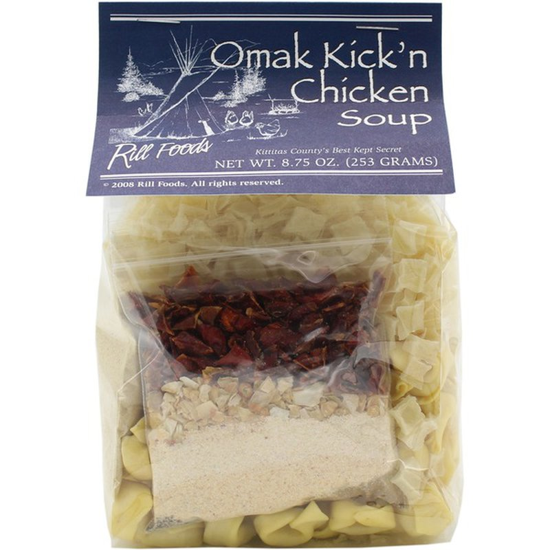 Rill's Specialty Foods Omak Kick'n Chicken Soup Mix