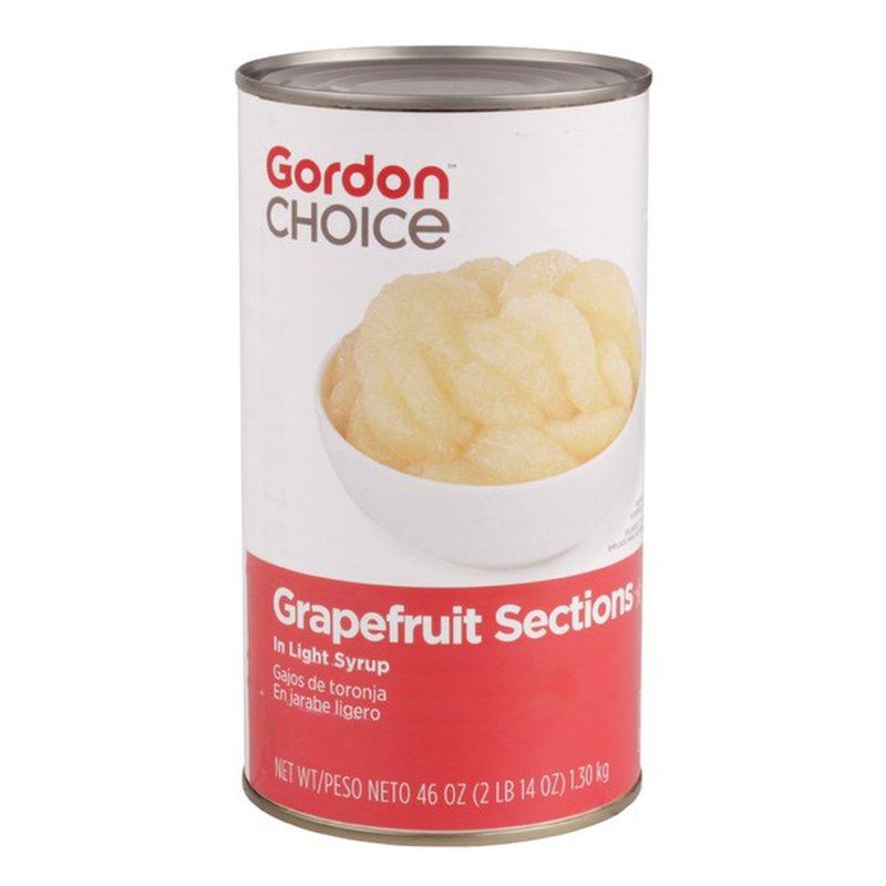 Gordon Choice Grapefruit Sections