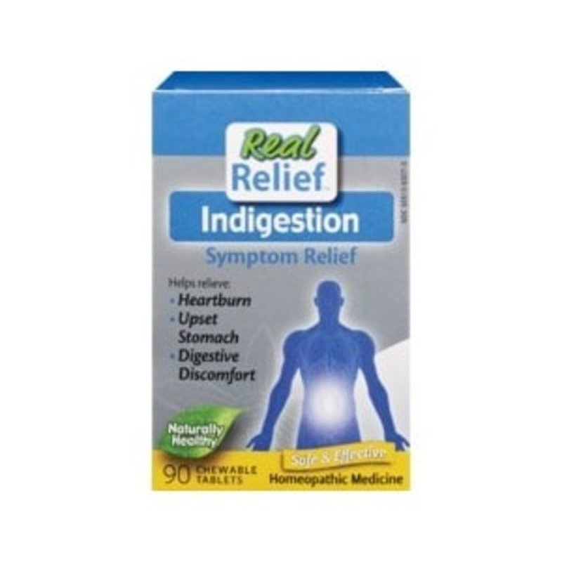 Real Relief Indigestion Symptom Relief Homeopathic Medicine