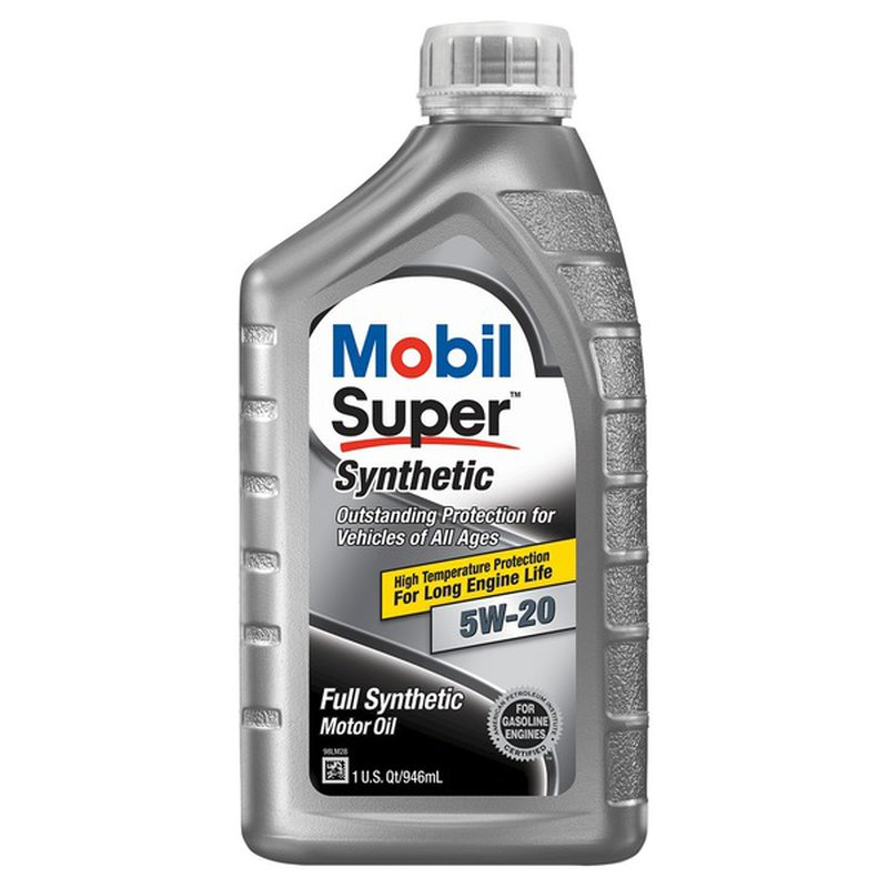 Mobil 5W-20 Super Synthetic Motor Oil