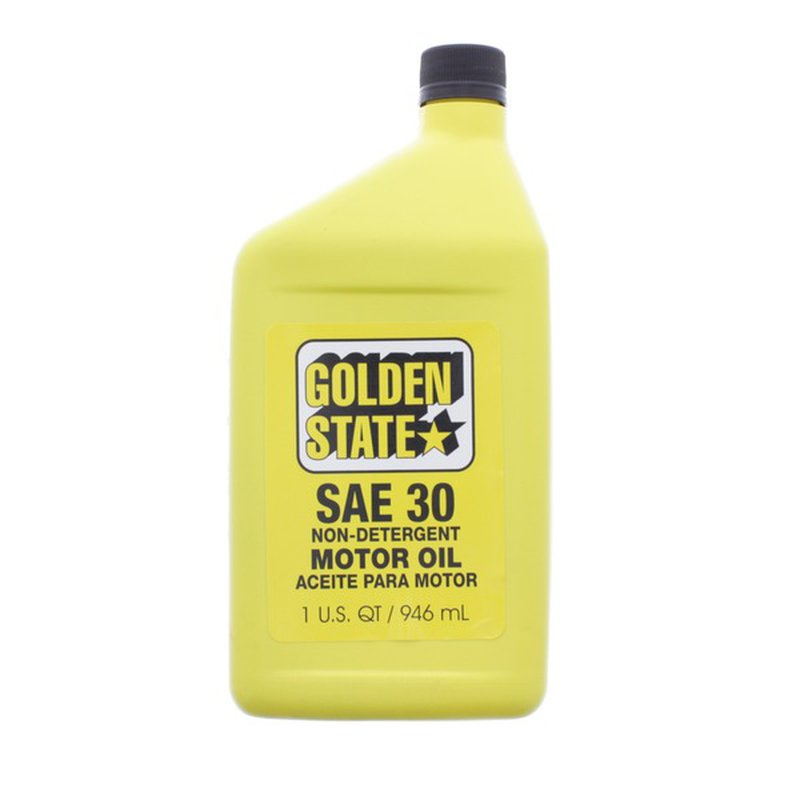 Golden State SAE 30 Motor Oil