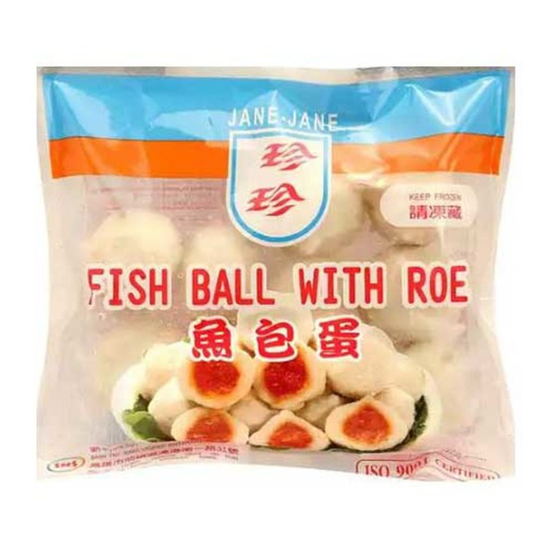 Jane-Jane Fish Ball With Roe
