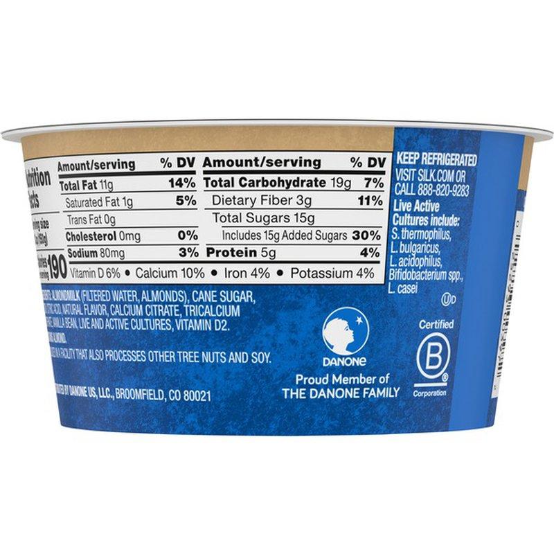 Silk Vanilla Almondmilk Yogurt Alternative