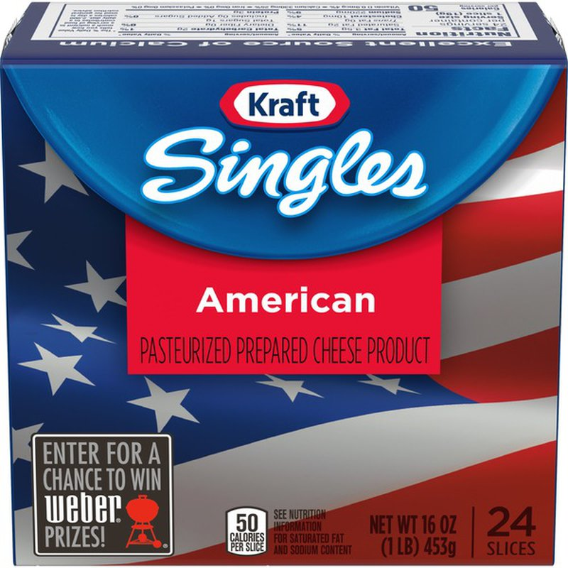 Kraft Singles American Cheese Slices