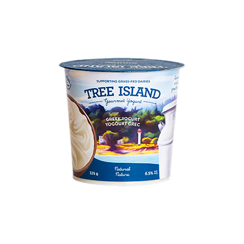 Chobani Tree Island Greek Espresso
