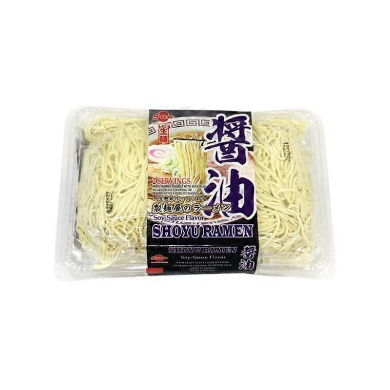 Sun Noodle Shoyu Ramen Fresh Ramen Noodles With Soy Sauce Soup Base 11 Oz From T T Supermarket Instacart