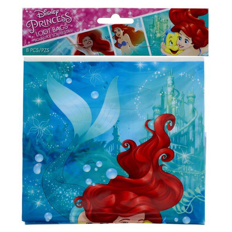 American Greetings Disney Princess Ariel Dream Big Loot Bags