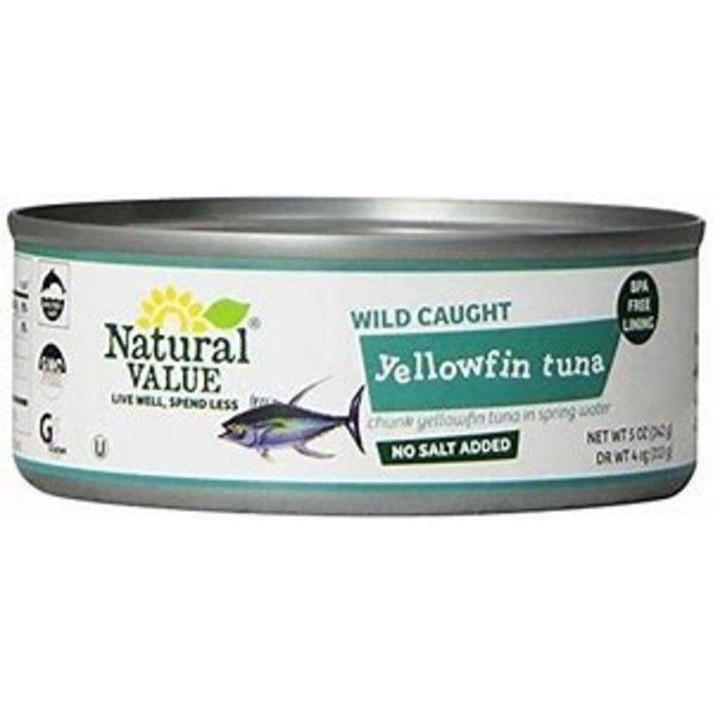 Natural Value Chunk Yellowfin Tuna in Water