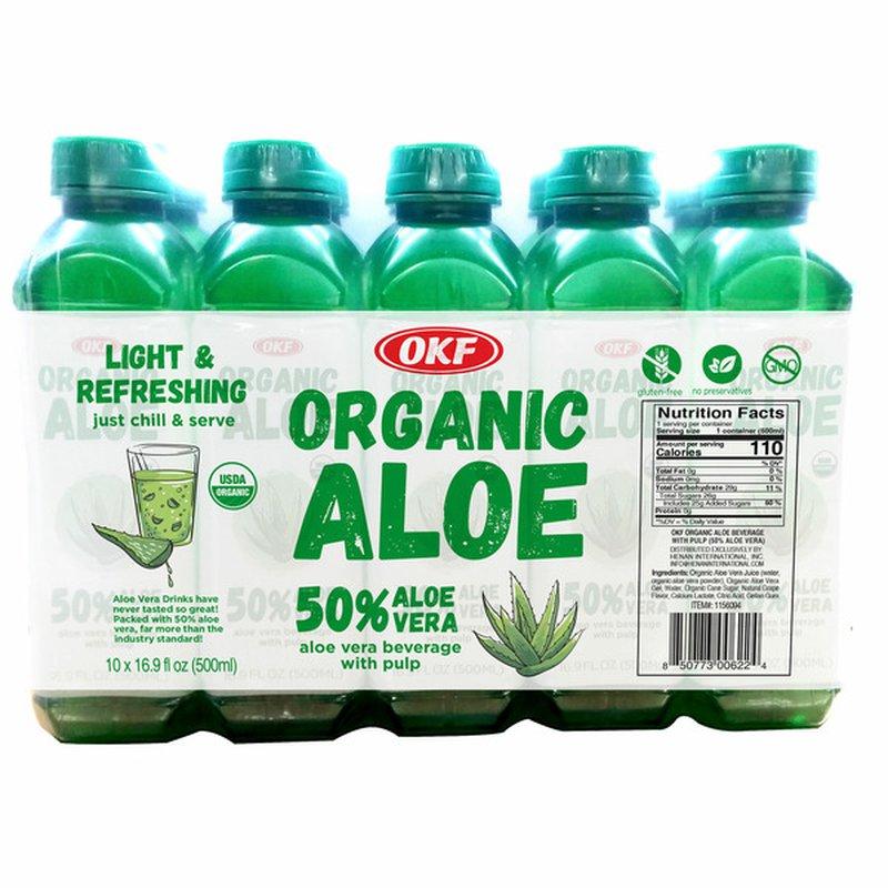 OKF Organic Aloe Vera Beverage