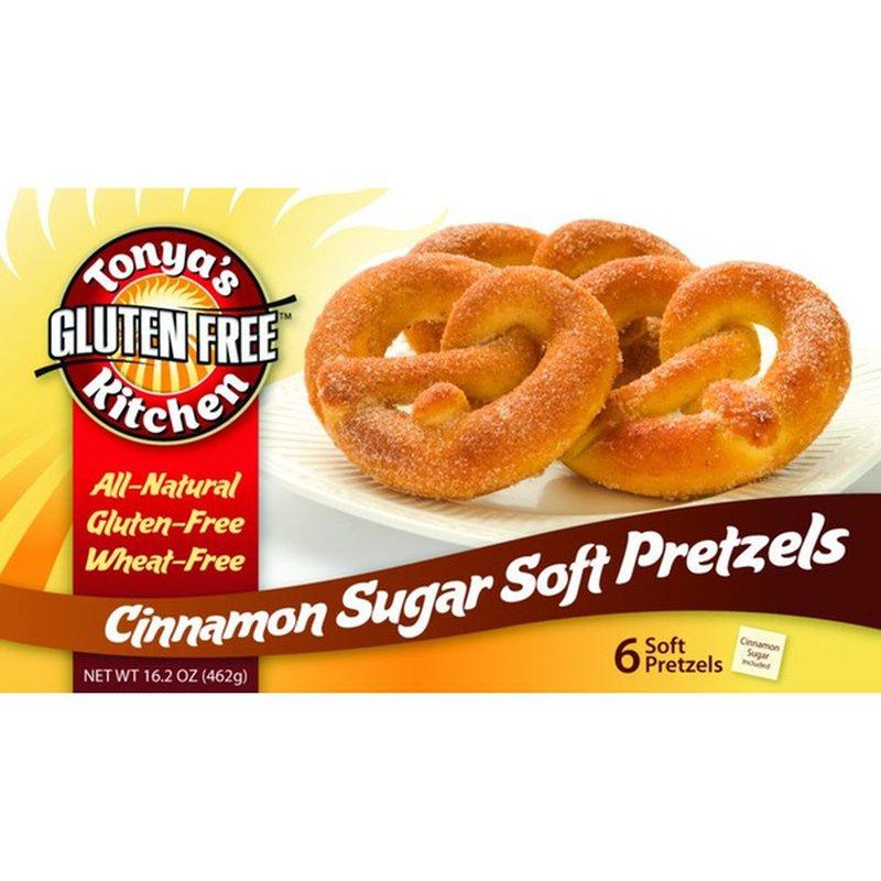 Tonya's Kitchen Gluten-Free Cinnamon Sugar Soft Pretzels