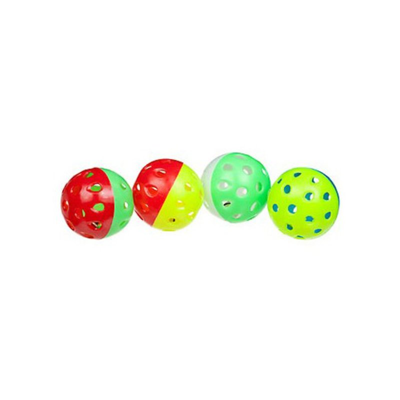 Small Animal Kingdom Petco Ferret Buzz Balls 4 Pack