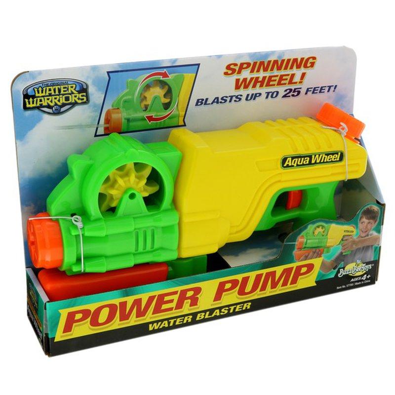Water Warriors Aqua Wheel Power Pump Water Blaster