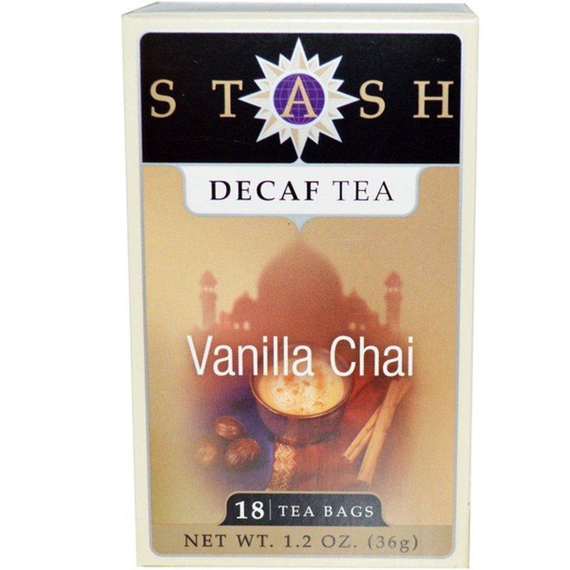 Stash Tea Decaffeinated Vanilla Chai Tea Bags