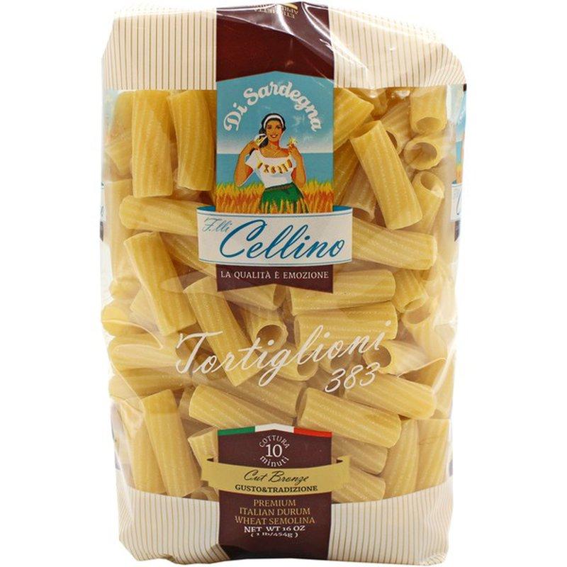 Cellino Tortiglioni Pasta