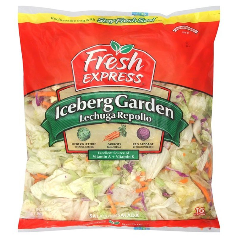 Fresh Express Iceberg Lettuce Garden Salad