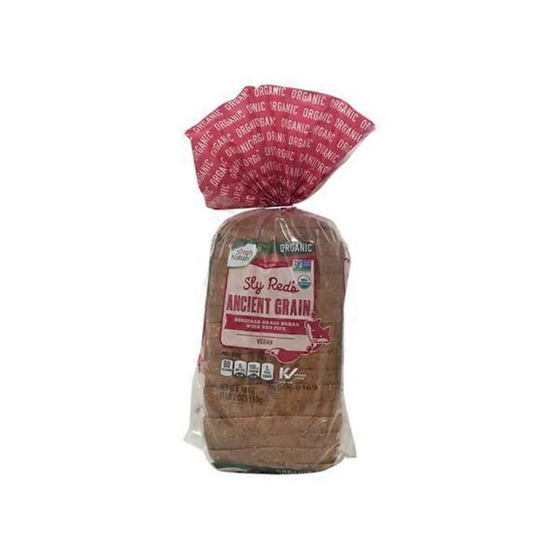 Simply Nature Seedless Ancient Grains Bread