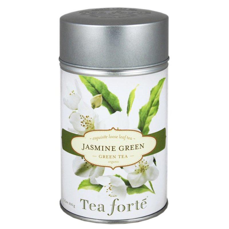 Tea Forté Organic Jasmine Green Tea, Loose Leaf Tea
