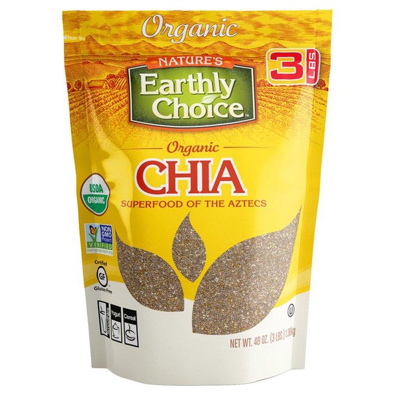 Nature's Earthly Choice Organic Chia