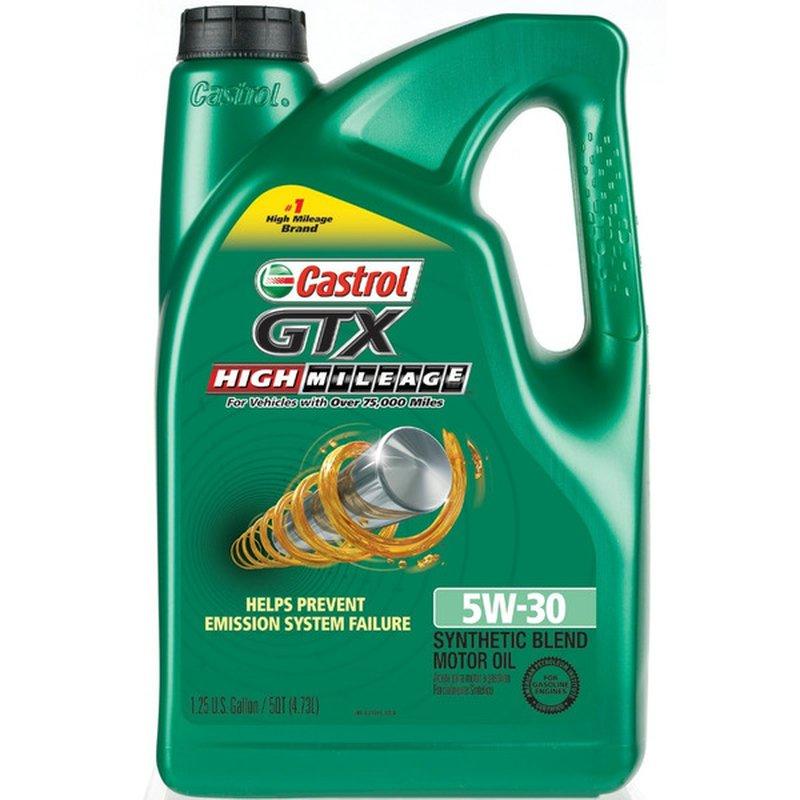 Castrol Motor Oil, SAE 5W-30
