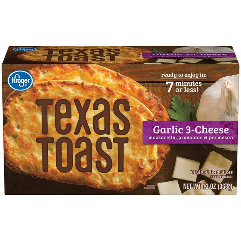 Kroger Texas Toast, Garlic 3-Cheese