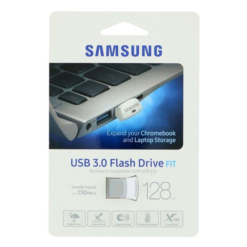 Samsung 128 GB 3.0 USB Flash Drive Fit